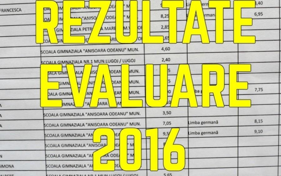 rezultate finale evaluare nationala 2016 edu ro
