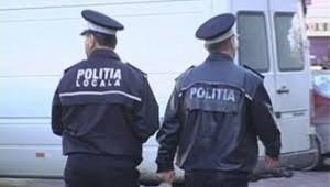 Polițist local bătut în fața Spitalului Județean