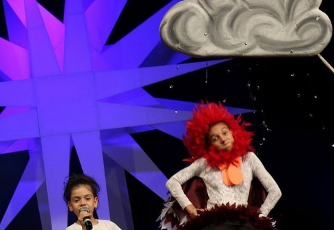 Larisa Petre, din Ploiești, pe podiumul de la Mamaia Copiilor!