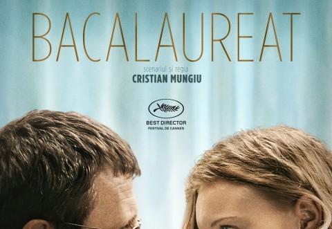 """Filmul """"Bacalaureat"""", premiat anul acesta la festivalul de la Cannes,  va fi proiectat în premiera la Baicoi"""