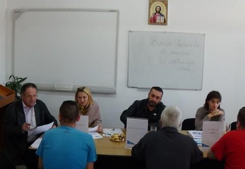 60 de deţinuţi din Penitenciarul Ploieşti au participat la Bursa locurilor de muncă
