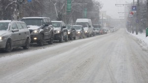 Ninge pe Valea Prahovei. Noi informaţii despre trafic