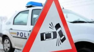 Accident pe DN 1, la Sinaia. Trafic îngreunat