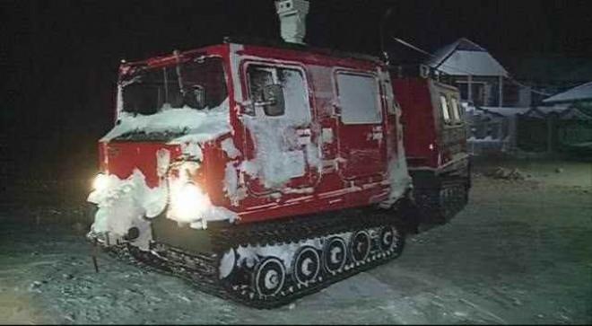 Autoşenilată ISU Prahova, trimisă în Constanţa pentru misiuni de salvare