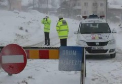 Autostrăzile A3, A2 şi A4, ÎNCHISE din cauza zăpezii. LISTA drumurilor blocate