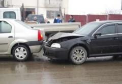 Accident pe strada Mihai Bravu