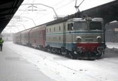 26 de trenuri, anulate din cauza viscolului