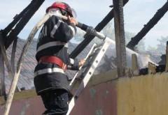 Incendiu VIOLENT la Chiojdeanca