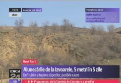 """Știri False pro-Multinaționale la Digi24: 'Defrișările și Topirea Zăpezilor' ar fi cauza pentru alunecările de teren de la Izvoarele. Dar nu spun nici """"PÂS"""" despre exploatările petroliere"""