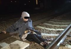Supraviețuire miraculoasă! O bătrână de 70 de ani din Prahova trăiește după ce a fost călcată de tren
