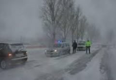 Prahova, sub avertizări meteo de ninsori abundente şi viscol. RECOMANDĂRILE Poliţiei