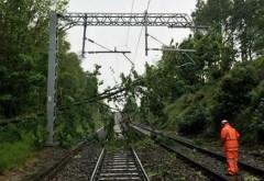 ALERTĂ Trei trenuri oprite, zeci de oameni blocați: Nu se mai circulă între Predeal și Brașov