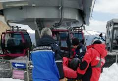 Cel puţin 3 turişti accidentaţi pe pârtiile din Sinaia- FOTO