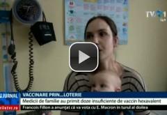 Medicii de familie au primit doze insuficiente de vaccin hexavalent