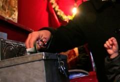 Un adolescent a furat bani dintr-o biserică din Râfov