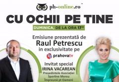 """Irina Vacarean, invitata in emisiunea """"Cu ochii pe tine"""", duminica, la Prahova TV"""