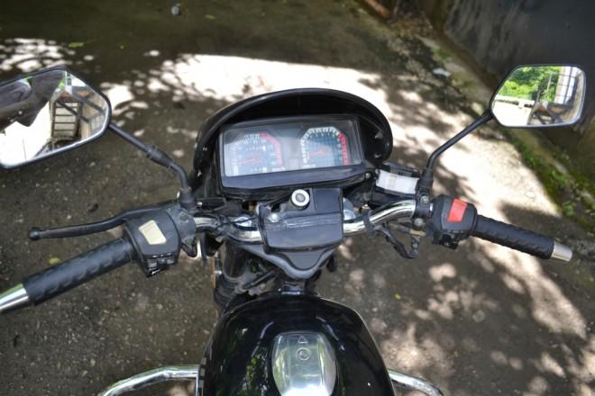 Motocicletă furată din Franţa, depistată în Prahova, la dezmembrări