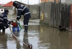 UPDATE Gospodării inundate la Bărcăneşti