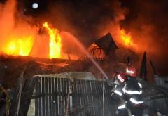 Incendiu DE AMPLOARE la Măneciu
