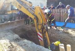 Un bărbat beat a căzut într-un canal la Sinaia