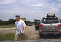 Cum tratează un poliţist american un şofer recalcitrant! FABULOS! VIDEO VIRAL