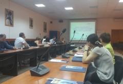 """Seminar dedicat optimizarii costurilor de renovare a cladirilor, intre """"AE3R Ploiesti Prahova"""", CJ  Pahova si Primaria Ploiesti"""