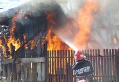 Ce a provocat incendiul VIOLENT izbucnit, ieri, la Drăgăneşti