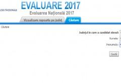Scrie AICI numele şi prenumele şi afli ce rezultat ai obţinut la Evaluarea Naţională 2017