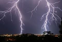 ATENTIONARE de ploi torentiale si descarcari electrice, in Ploiesti. Vezi pana la ce ora