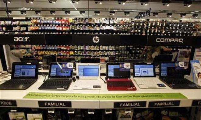 Reţinuţi după ce au furat două laptopuri dintr-un centru comercial de la marginea Ploieştiului