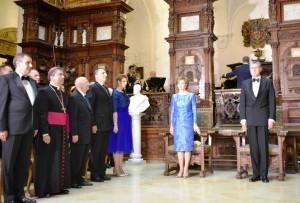 Ceremonie INEDITĂ la Castelul Peleş