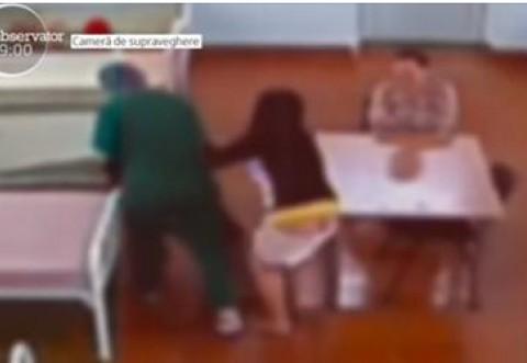 Bătrână snopită in bătaie in spital, de asistenta care trebuia să o ingrijească
