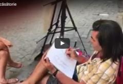 Cerere în căsătorie inedită. Cum și-a surprins un ploieștean viitoarea soție/VIDEO