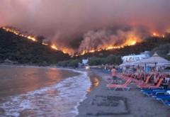 Stare de urgență pe insula Zakynthos din cauza flăcărilor