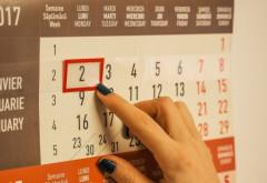 Câte minivacanţe vor fi anul viitor, ce sărbători legale pică în weekend