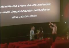 Cerere in casatorie INEDITA, la cinema-ul din Ploiesti Shopping City