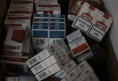 Politistii au gasit sute de pachete de tigari in casa unui ploiestean! Ce era in neregula cu ele