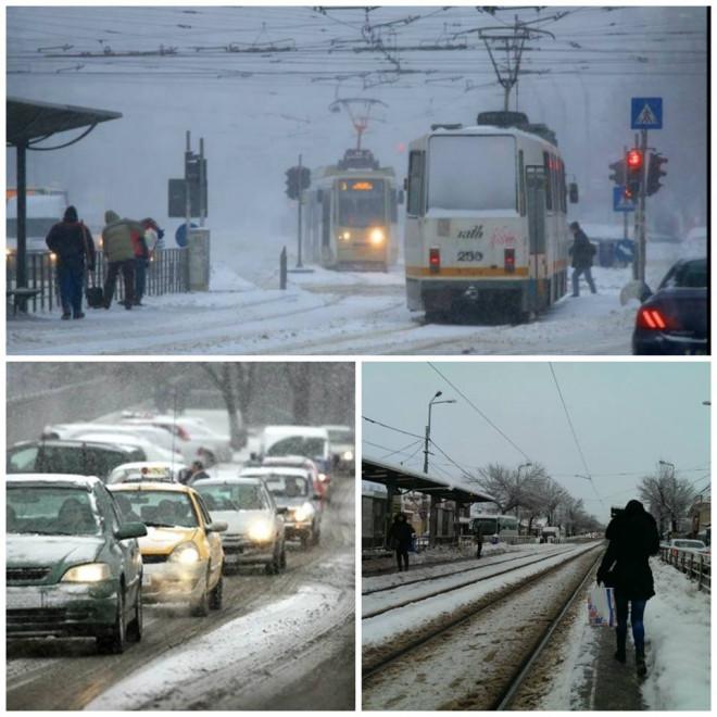 Vine iarna în Bucureşti! Meteorologii au anunţat când cade prima ninsoare în Capitală şi în ţară