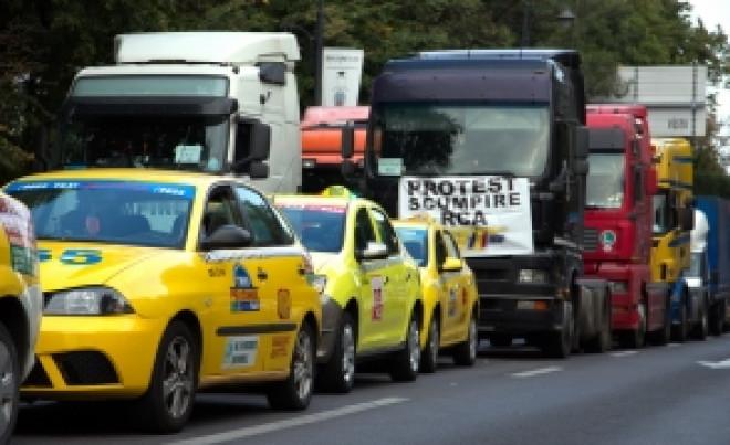 Se anunță PROTESTE masive în toată țara: Transportatorii organizeaza un miting URIAȘ