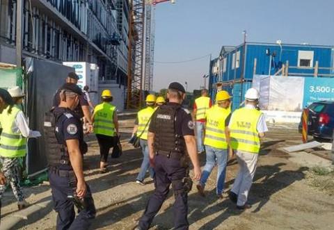 Controale ale ITM Prahova pe santiere! Amenzi de 26.000 de lei pentru neregulile descoperite