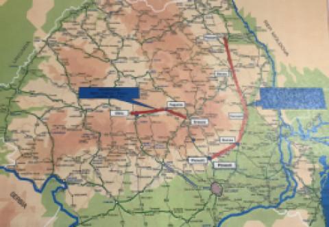 DOCUMENT - Tronsoanele de autostradă finanțate în 2018: planul DETALIAT al Ministerului Transporturilor