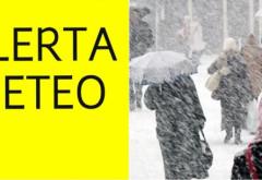 ALERTĂ METEO: Ploi, lapoviţă şi ninsori în toată ţara. Se va depune strat nou de zăpadă