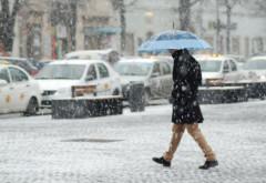PROGNOZA METEO. Vreme rece în următoarele zile. Ninge în Ploiesti