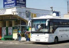 Staţie de microbuze în Bariera Bucureşti, pentru elevii care invata la liceele din zona
