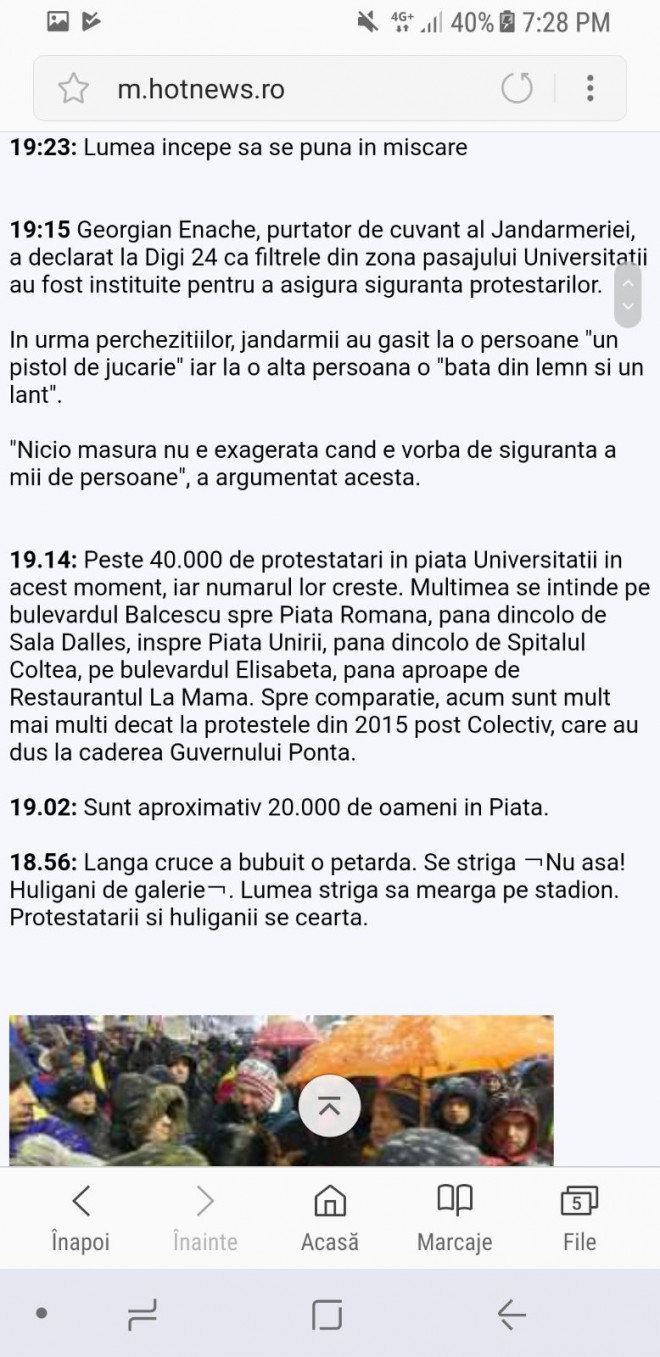 "Se intampla ""minuni"" in Piata Universitatii!"