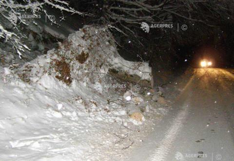 Drumul catre Cota 1400, INCHIS din cauza zapezii