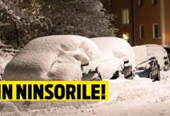 Alertă de ultimă oră de la meteorologi. Vremea se schimbă radical, va ninge şi în sud