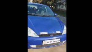 """Bărbat cu permisul suspendat, prins conducând o maşină cu plăcuţe pe care scria """"Suveran"""": """"Corespund foarte bine"""""""