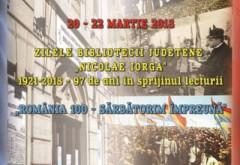 """Biblioteca Județeană """"Nicolae Iorga"""" aniversează 97 de ani de existență. Vezi calendarul evenimentelor"""