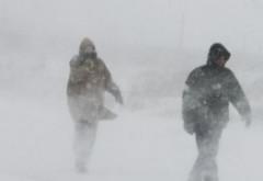 Meteorologii anunță o schimbare RADICALĂ a vremii: Ce se va întâmpla cu viscolul spre seară